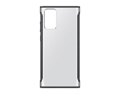 갤럭시 노트20 클리어 프로텍티브 커버 (블랙)