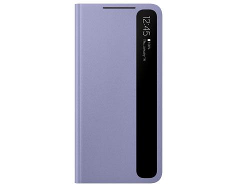 S21 5G 스마트 클리어 뷰 커버 (바이올렛)