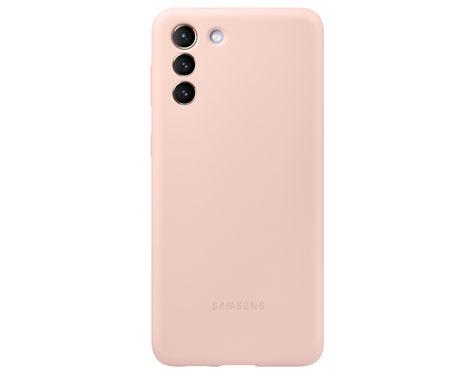 S21+ 5G 실리콘 커버 (핑크)